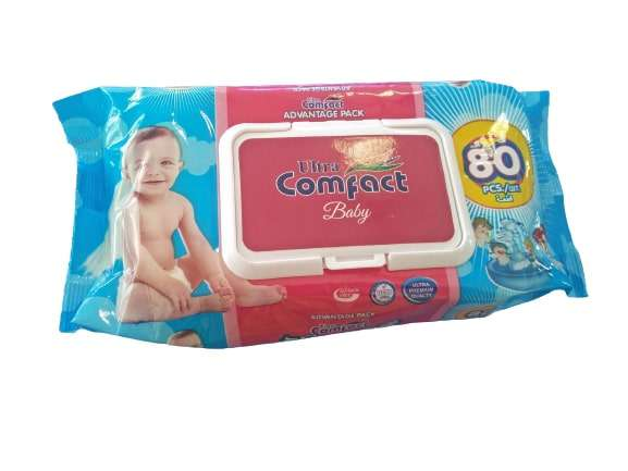 Comfact baby wipes